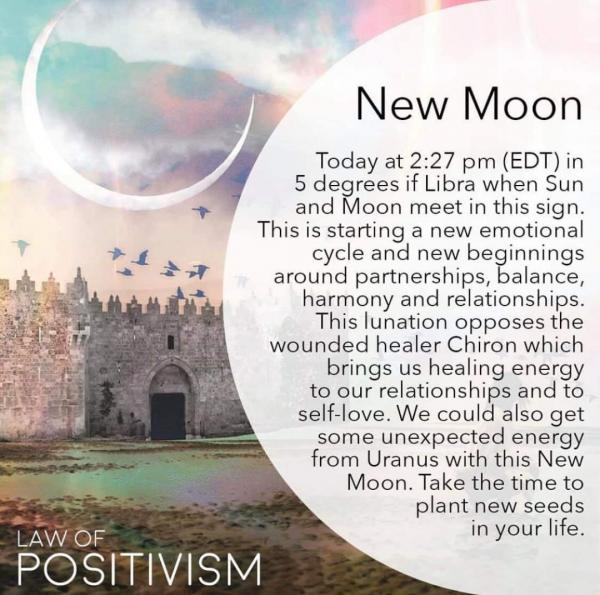 New Moon in Libra!