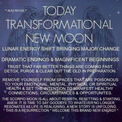 New Moon in Scorpio!
