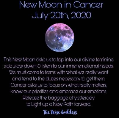 New Moon in Cancer!